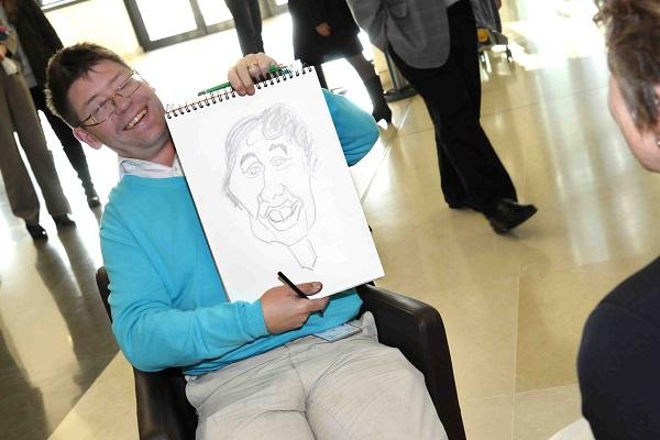 Fresque/caricatures